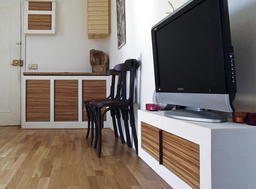 Encantador Mueble De Obra Friso - Ideas de Decoración de Interiores ...